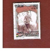 ITALIA REPUBBLICA  -  2000 U.C.I. CICLISTA - USATO ° - 6. 1946-.. Repubblica
