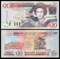 East Caribbean 20 Dollars 2003 Montserrat P 44m UNC  ( Iles CARAIBES ) - Caraïbes Orientales