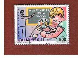 ITALIA REPUBBLICA  -  2000   GIORNATA DELLA FILATELIA                - USATO ° - 6. 1946-.. Repubblica