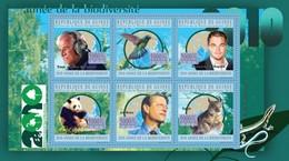 GUINEA 2010 - Biodiversity, Colibri - YT 5104-9; CV = 15 € - Hummingbirds