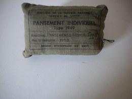 Pansement Individuel Français Type 1949 - Bien Daté 1952 - Indochine Algérie - Equipement