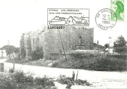 08 Ardennes  STONNE Ruines De L église Rue Principale  RAUCOURT 2 Scans - Autres Communes