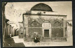 CPA - TUNIS - Le Tombeau Des Beys Et La Rue Tourbet El Bey, Animé - Tunesien