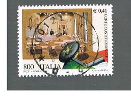 ITALIA REPUBBLICA  -  1999  CORTE COSTITUZIONALE - USATO ° - 6. 1946-.. Repubblica