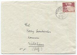 1798 - Urtype/Grimsel Auf Brief Von WOLFERTSWIL Nach WILDHAUS (SG) - Schweiz