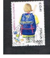 ITALIA REPUBBLICA  -  1999  GIORNATA DELLA FILATELIA       - USATO ° - 6. 1946-.. Repubblica