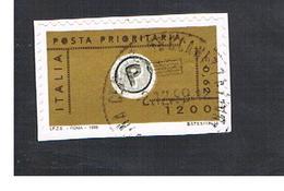 ITALIA REPUBBLICA  -  1999  PRIORITARIA VALORE IN LIRE 1.200 E EURO 0,62     - USATO ° - 6. 1946-.. Repubblica