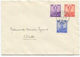 1800 - 1936 Eidgenössische Wehranleihe BULLE 1.X.36 Sehr Seltener FDC - Briefe U. Dokumente