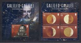 Montserrat (2014) Galileo Galilei / Astronomy - Full Set (**) - Astronomy