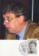 Carte  Maximum  1er  Jour   T.A.A.F    Gérard   MEGIE   2008 - Franse Zuidelijke En Antarctische Gebieden (TAAF)