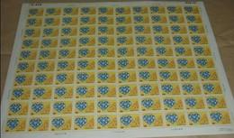 Rep China 1989 Social Welfare Stamp Sheet Computer Wheelchair Plane Taxi Baby Education - China