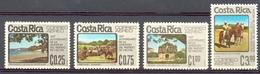 Costa Rica - 1975 - Yt PA 627/630 - 150 Ans De L'annexion Du District De Nicoya - ** - Costa Rica