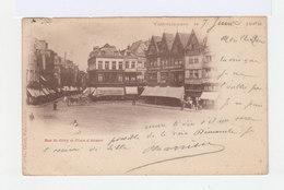 Valenciennes. Rue St Géry Et Place D'armes. Devantures De Magasins, Atelage. (2784) - Valenciennes