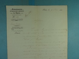 1850 Vaulx Bourlers Problèmes De Subsides Pour L'amélioration Des Chemins Vicinaux - Manuscrits