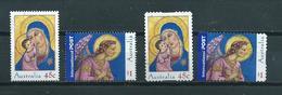 2005 Australia Complete Set Christmas,kerst,noël,weihnachten Used/gebruikt/oblitere - 2000-09 Elizabeth II