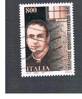 ITALIA REPUBBLICA  - 1997   DON G. MOROSINI  - USATO ° - 6. 1946-.. Repubblica