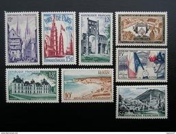 975-976-978-979-980-985-987-996  Touristique Et Lieux  1954  NEUF**  TBE - Ungebraucht