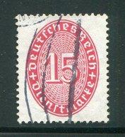 ALLEMAGNE- Service Y&T N°91- Oblitéré - Service