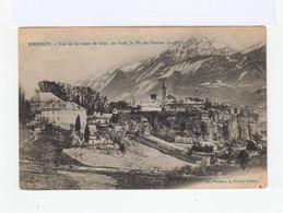 Embrun.Forteresse Vauban. Vue De La Route De Gap. Le Pic Du Clocher. (2787) - Embrun