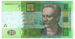 UKRAINE 20 HRYVEN 2005 STELMAKH Pick 120b Unc - Oekraïne