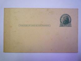 ENTIER POSTAL  1C  JEFFERSON    - Lettres & Documents