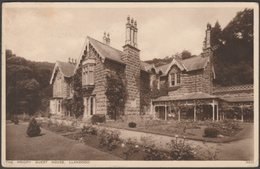 The Priory Guest House, Llandogo, Monmouthshire, 1945 - Walter Scott Postcard - Monmouthshire