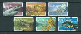 2006 Australia Complete Set Animals,dieren,tiere Self-adhesive Used/gebruikt/oblitere - Gebruikt