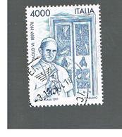 ITALIA REPUBBLICA  - 1997  PAPA PAOLO VI            - USATO ° - 6. 1946-.. Repubblica