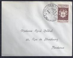 Enveloppe Locale Journee Du Timbre 1944 Perigueux - France