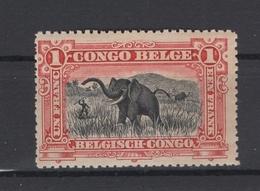 Congo-Belge. 1910. COB N° 60 *, MH  Cote COB 2018 : 4 € - Congo Belge