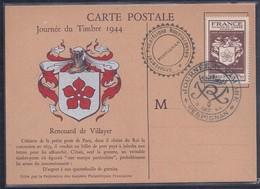 Carte Federale Journee Du Timbre 1944 Perpignan - Francia