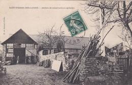 SAINT PIERRE DES LANDES - ATELIERS DE CONSTRUCTIONS AGRICOLES - 53 - France