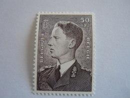 België Belgique 1952 Koning Boudewijn Roi Baudouin Polyvalent Papier COB 879A.P Yv 879 C MNH ** - Belgium