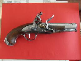 Pistolet De Gendarmerie Modèle An IX De La Manufacture Nle De Maubeuge - Decotatieve Wapens