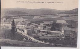 CPA SAINT ANTHEME 63 QUARTIER DU CHALARD - France