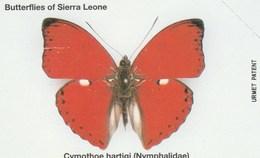 Sierra Leone - Butterflies - Cymothoe Hartigi - Sierra Leone