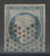 France - YT 4 - 25c Bleu Oblitéré étoile Muette - 1849-1850 Cérès