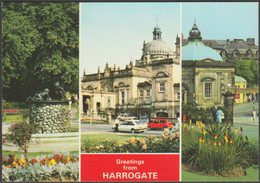 Multiview, Greetings From Harrogate, Yorkshire, C.1980 - Dennis Postcard - Harrogate