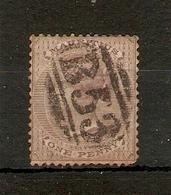 MAURITIUS 1863 1d PURPLE - BROWN SG 56 USED Cat £17 - Mauritius (...-1967)