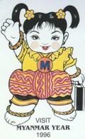 Myanmar - Myanmar Year - Phone Card - 200 Un - Myanmar (Burma)