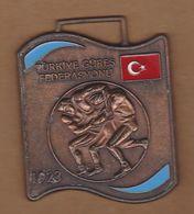 AC - MEDAL OF TURKISH WRESTLING  FEDERATION - Wrestling