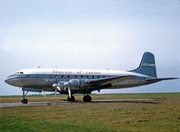Aviation Postcard-811  Skyways Of London Hermes 4 G-ALDT - 1946-....: Moderne