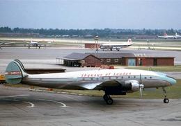 Aviation Postcard-812  Skyways Of London Lockheed  L-749A Constellation G-ANUR - 1946-....: Moderne