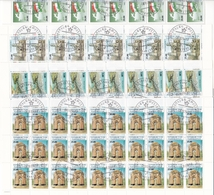 CCCP Russia Tadschikistan LOT 13 Stamp Sheets 1993 - Tajikistan
