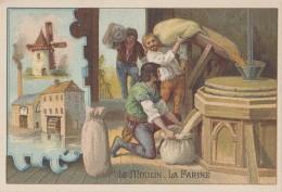 Chromos - Moka Bériot 59 Lille - Métiers Meunier Moulin Farine - Trade Cards