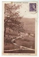 ST ROMAIN Près De St-Anthême- Le Pont De Rouffini - Circulée 1941 - France