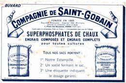 Buvard Compagnie Saint-gobain. Superphosphate De Chaux. - Agriculture