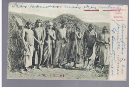 Argentina Indios Matacos Chaco Salteno Ca 1905 POSTCARD 2 Scans - Argentina