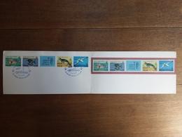 REPUBBLICA - Striscia Salvaguardia Mare - Nuova E Timbrata Su Cartoncino Ufficiale Poste Italiane + Spese Postali - 6. 1946-.. Repubblica