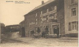 BEAURAING : Hôtel Du Centre - Café Restaurant Milet-Naudé TRES RARE CPA - Beauraing